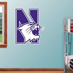 Northwestern Wildcats Logo Fathead Wall Decal